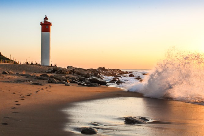 Umhlanga Lighthouse And Beach